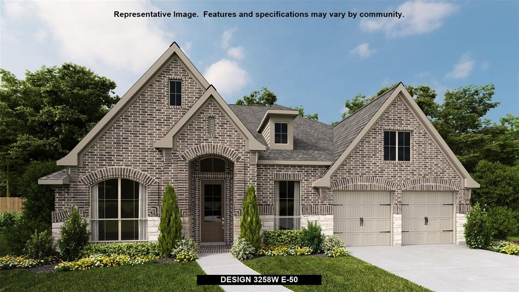 New Home Design, 3,258 sq. ft., 4 bed / 3.0 bath, 3-car garage