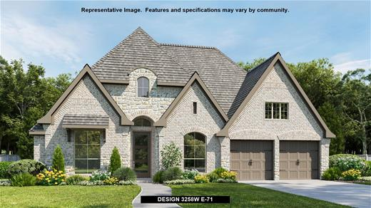 New Home Design, 3,258 sq. ft., 4 bed / 3.5 bath, 3-car garage