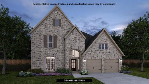 New Home Design, 3,261 sq. ft., 4 bed / 3.5 bath, 3-car garage