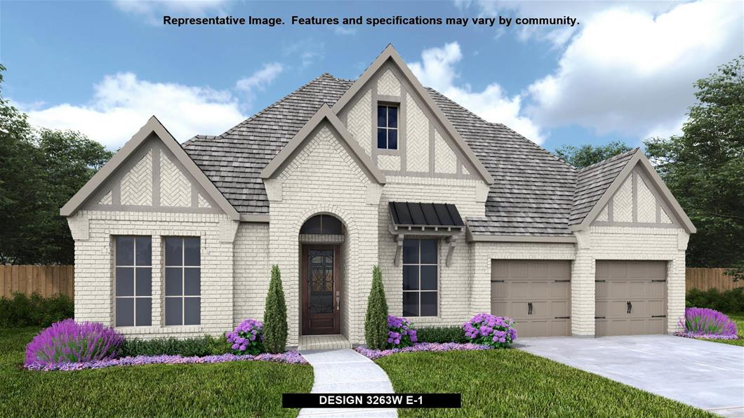 New Home Design, 3,263 sq. ft., 4 bed / 3.0 bath, 3-car garage