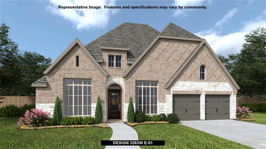 New Home Design, 3,263 sq. ft., 4 bed / 3.5 bath, 3-car garage