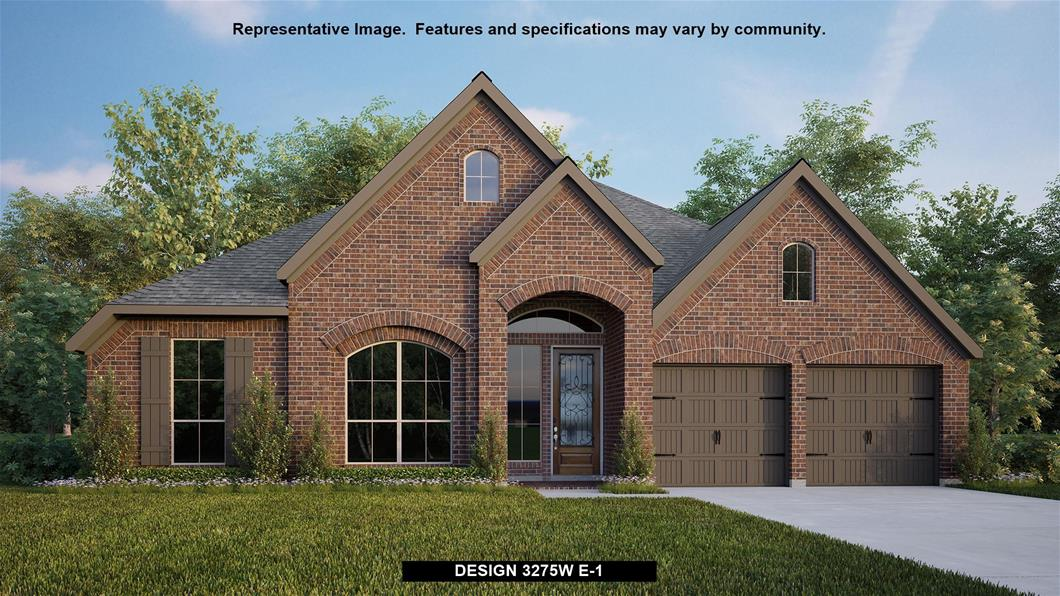 New Home Design, 3,275 sq. ft., 4 bed / 3.0 bath, 3-car garage