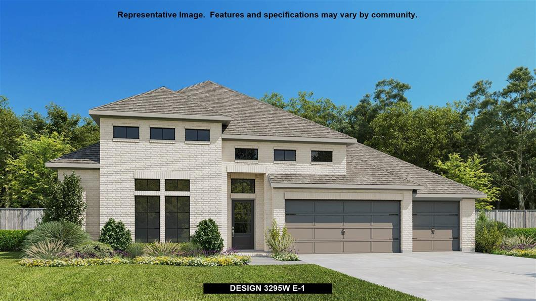 New Home Design, 3,295 sq. ft., 4 bed / 3.0 bath, 3-car garage