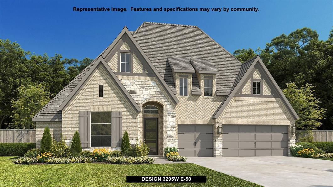New Home Design, 3,295 sq. ft., 4 bed / 3.5 bath, 3-car garage