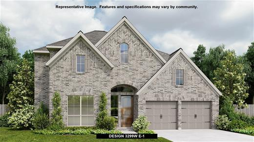New Home Design, 3,299 sq. ft., 4 bed / 3.5 bath, 3-car garage