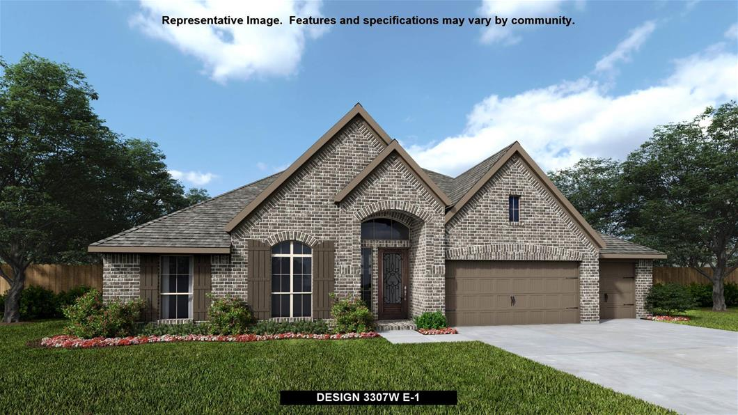 New Home Design, 3,307 sq. ft., 4 bed / 3.0 bath, 3-car garage