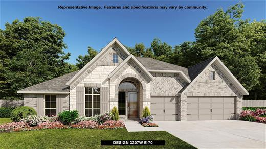 New Home Design, 3,307 sq. ft., 4 bed / 3.5 bath, 3-car garage
