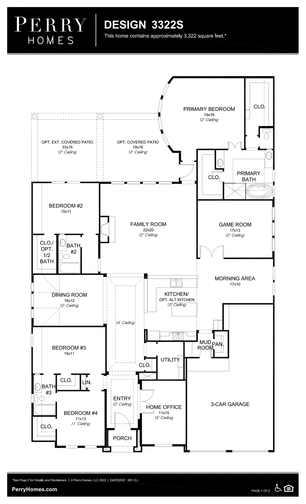 Floor Plan for 3322S