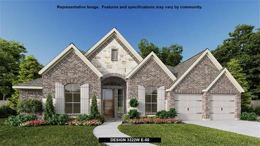 New Home Design, 3,322 sq. ft., 4 bed / 3.5 bath, 3-car garage
