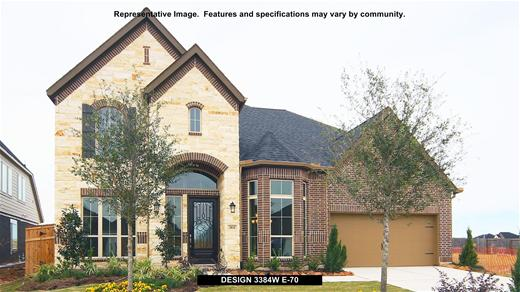 New Home Design, 3,384 sq. ft., 5 bed / 3.5 bath, 3-car garage