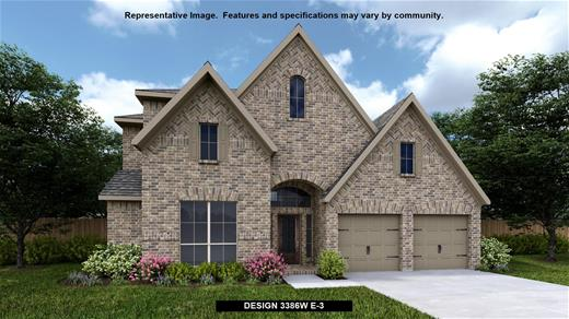 New Home Design, 3,386 sq. ft., 4 bed / 3.0 bath, 3-car garage