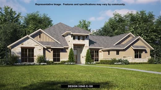 New Home Design, 3,394 sq. ft., 4 bed / 3.5 bath, 3-car garage