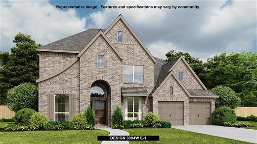 New Home Design, 3,394 sq. ft., 5 bed / 4.0 bath, 3-car garage