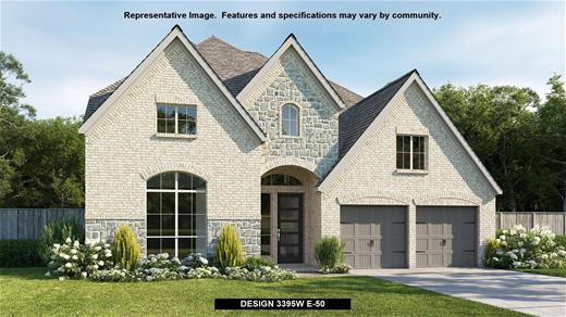 New Home Design, 3,395 sq. ft., 4 bed / 3.5 bath, 4-car garage