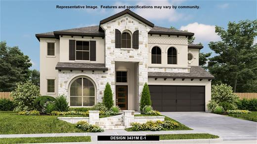 New Home Design, 3,431 sq. ft., 4 bed / 3.0 bath, 3-car garage