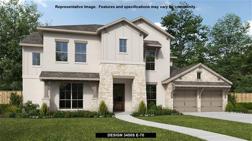 New Home Design, 3,450 sq. ft., 5 bed / 4.0 bath, 3-car garage