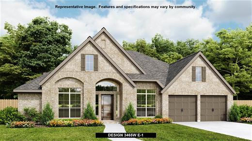 New Home Design, 3,465 sq. ft., 4 bed / 3.0 bath, 3-car garage
