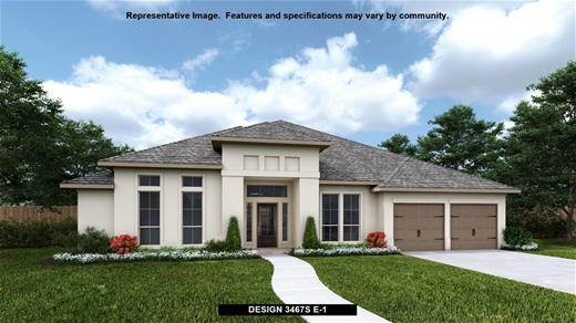 New Home Design, 3,467 sq. ft., 4 bed / 3.5 bath, 3-car garage