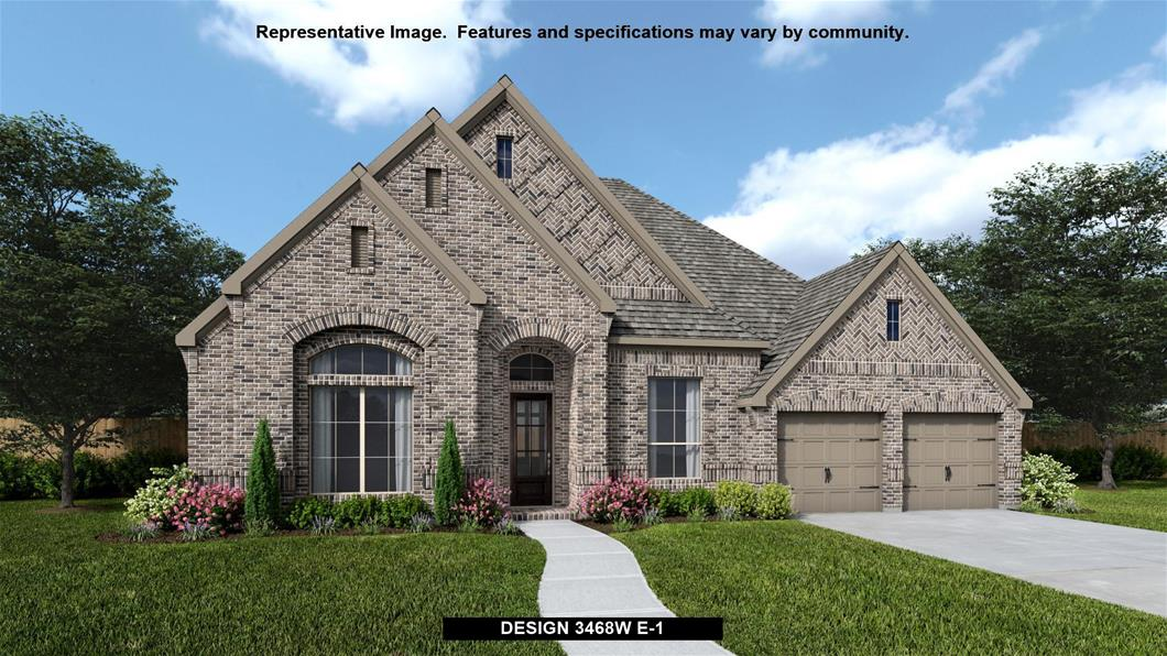 New Home Design, 3,468 sq. ft., 4 bed / 3.0 bath, 3-car garage