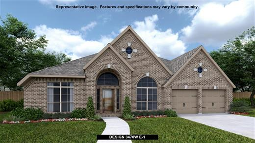 New Home Design, 3,470 sq. ft., 4 bed / 3.0 bath, 3-car garage