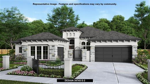 New Home Design, 3,474 sq. ft., 4 bed / 3.5 bath, 3-car garage