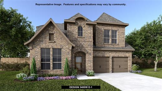 New Home Design, 3,480 sq. ft., 4 bed / 3.5 bath, 3-car garage