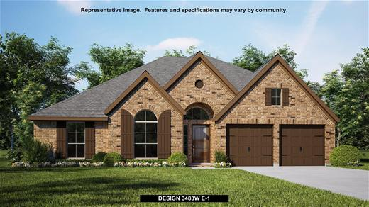 New Home Design, 3,483 sq. ft., 4 bed / 3.0 bath, 3-car garage