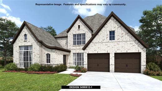 New Home Design, 3,496 sq. ft., 4 bed / 4.5 bath, 3-car garage