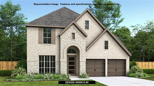 New Home Design, 3,500 sq. ft., 5 bed / 4.5 bath, 3-car garage