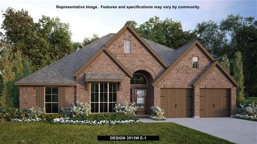 New Home Design, 3,513 sq. ft., 4 bed / 3.0 bath, 3-car garage