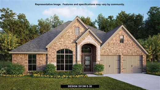 New Home Design, 3,513 sq. ft., 4 bed / 3.5 bath, 3-car garage