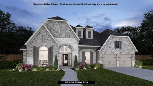 New Home Design, 3,558 sq. ft., 4 bed / 3.5 bath, 3-car garage