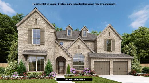 New Home Design, 3,579 sq. ft., 4 bed / 4.5 bath, 3-car garage