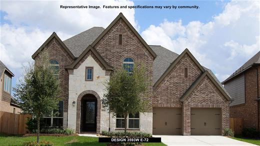 New Home Design, 3,593 sq. ft., 4 bed / 3.5 bath, 3-car garage