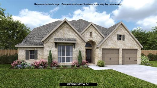 New Home Design, 3,637 sq. ft., 4 bed / 3.0 bath, 2-car garage