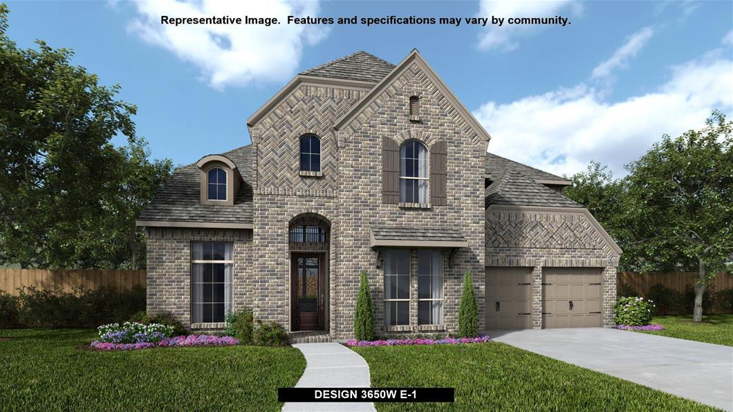 New Home Design, 3,650 sq. ft., 4 bed / 4.0 bath, 3-car garage