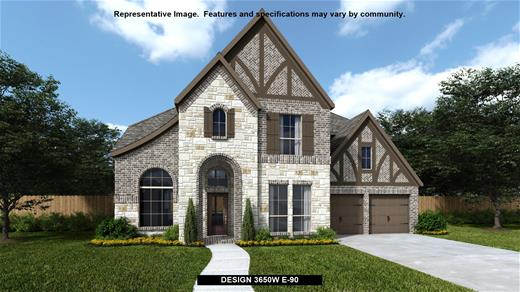 New Home Design, 3,650 sq. ft., 5 bed / 5.0 bath, 4-car garage