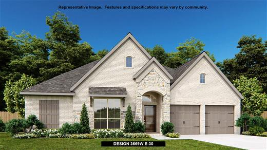 New Home Design, 3,669 sq. ft., 4 bed / 3.5 bath, 3-car garage