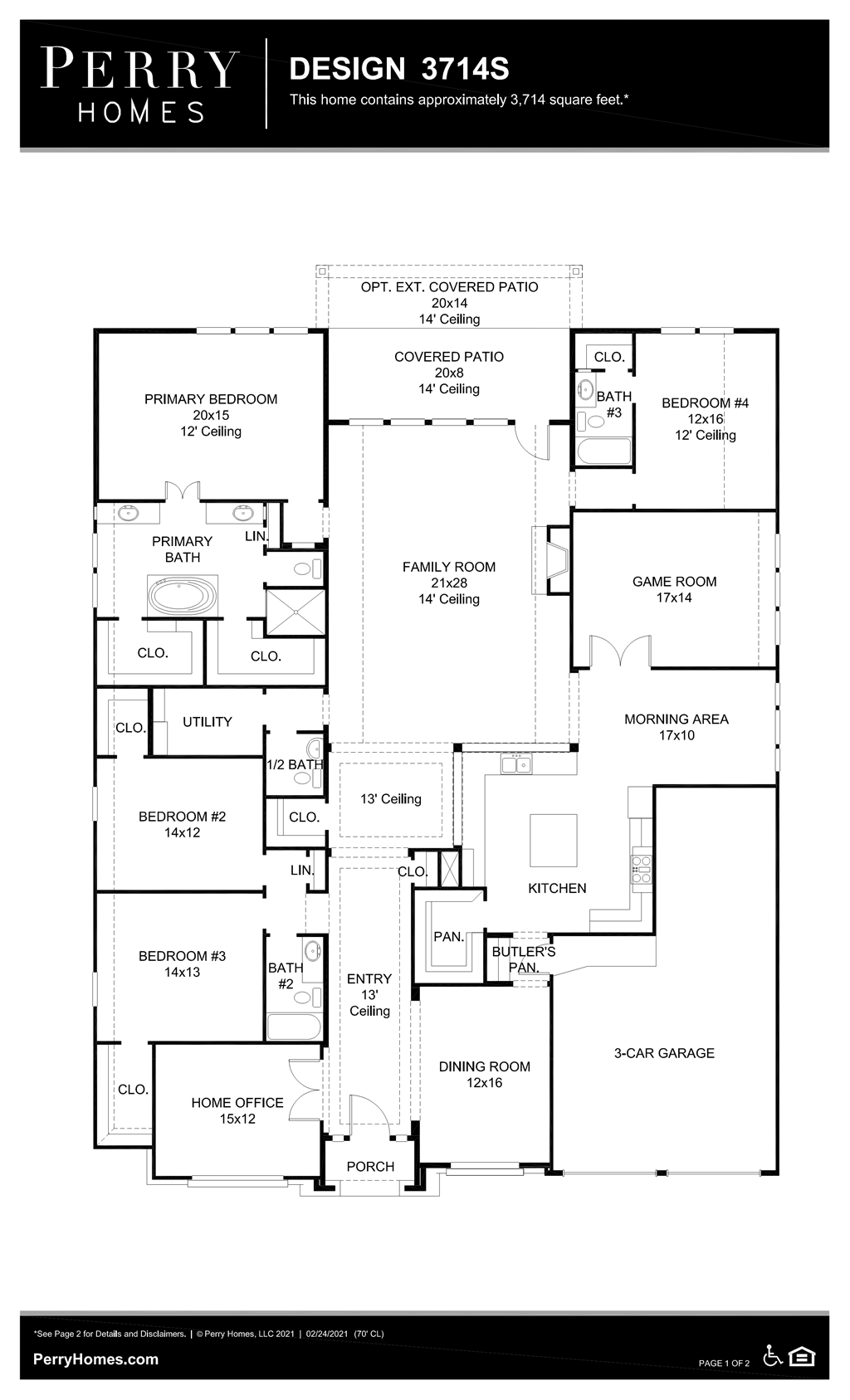 Floor Plan for 3714S