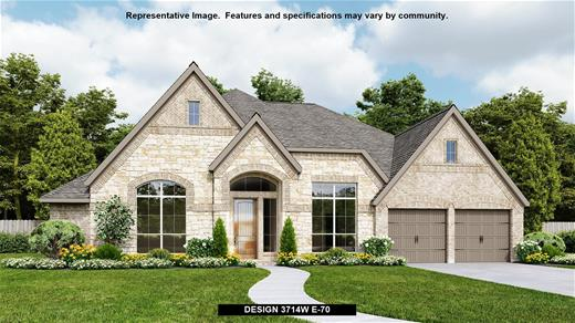 New Home Design, 3,714 sq. ft., 4 bed / 3.5 bath, 3-car garage