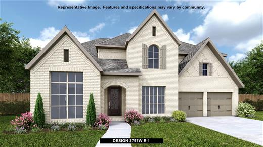 New Home Design, 3,797 sq. ft., 5 bed / 4.0 bath, 3-car garage