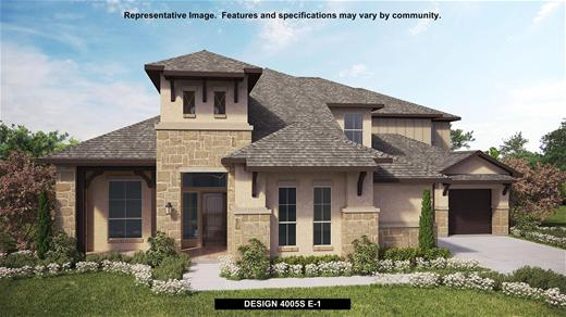 New Home Design, 4,005 sq. ft., 5 bed / 4.5 bath, 3-car garage