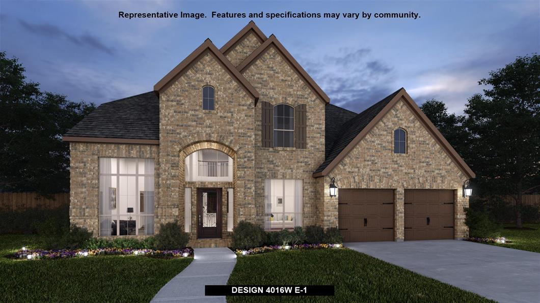 New Home Design, 4,016 sq. ft., 5 bed / 4.5 bath, 3-car garage