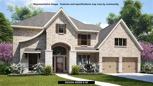 New Home Design, 4,098 sq. ft., 5 bed / 4.5 bath, 3-car garage