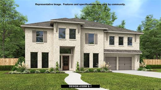 New Home Design, 4,189 sq. ft., 5 bed / 4.5 bath, 3-car garage