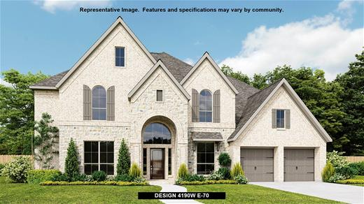 New Home Design, 4,190 sq. ft., 5 bed / 4.5 bath, 4-car garage