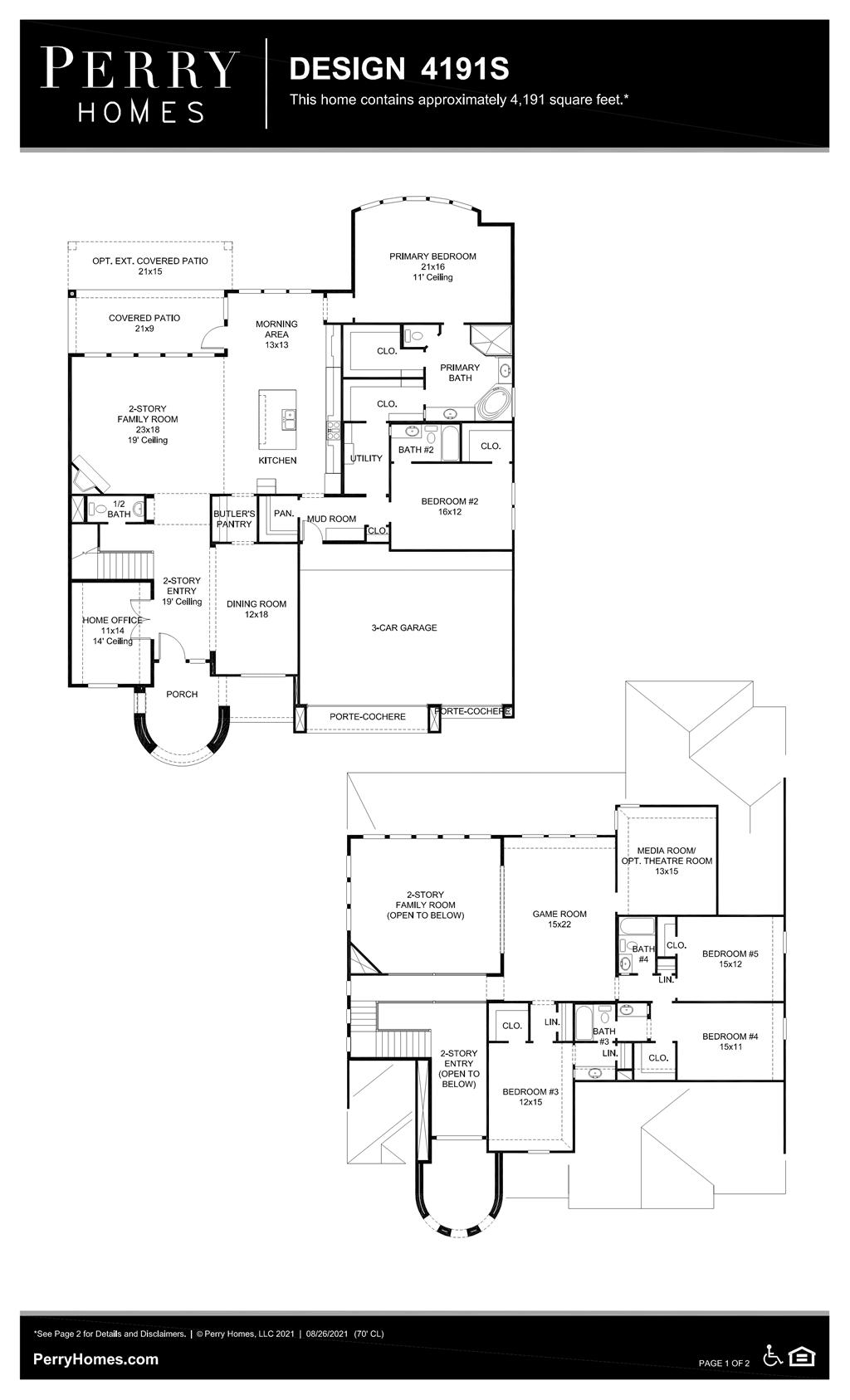 Floor Plan for 4191S