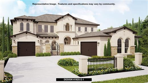 New Home Design, 4,192 sq. ft., 5 bed / 5.5 bath, 3-car garage