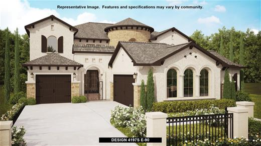 New Home Design, 4,197 sq. ft., 5 bed / 4.5 bath, 3-car garage