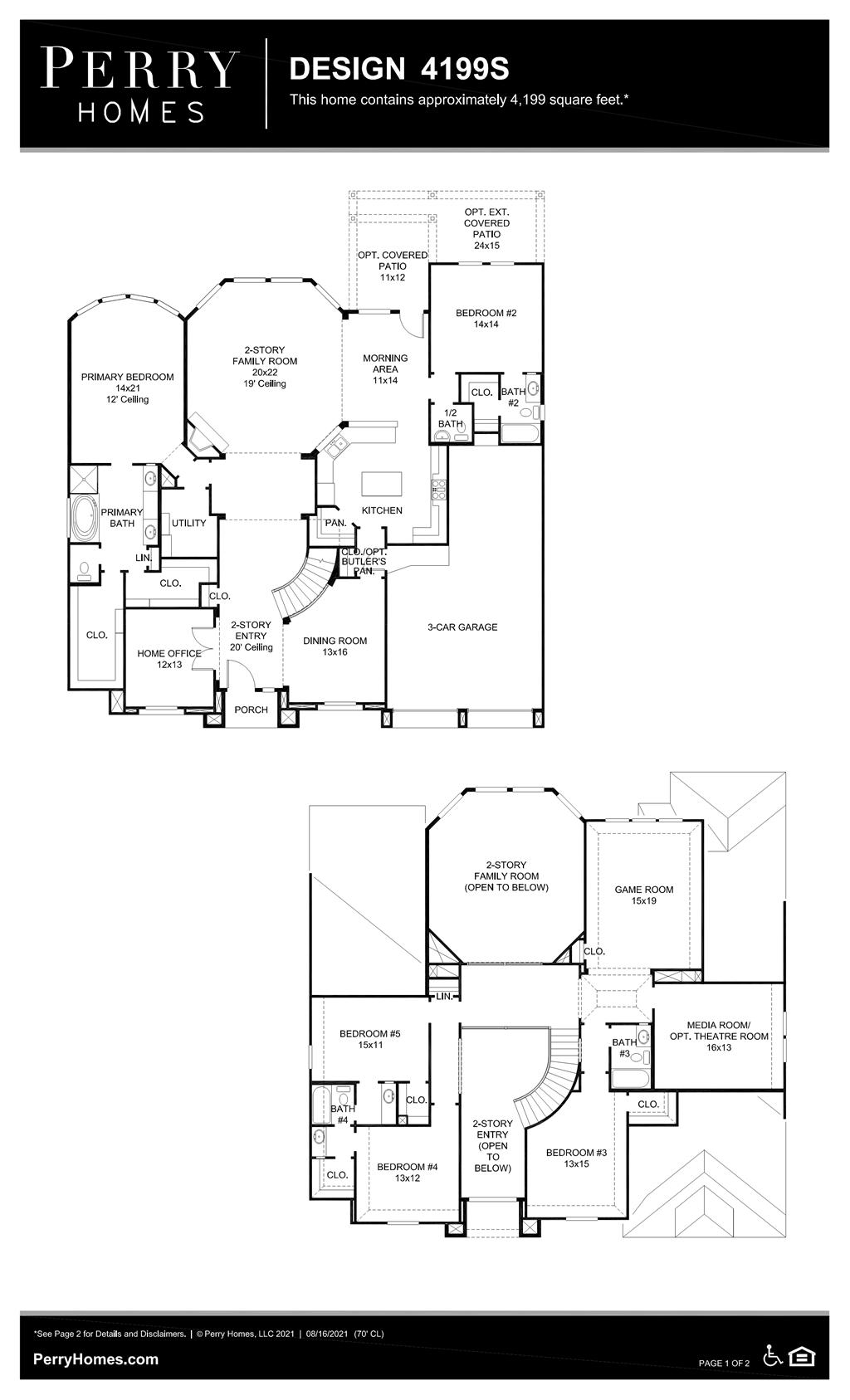 Floor Plan for 4199S